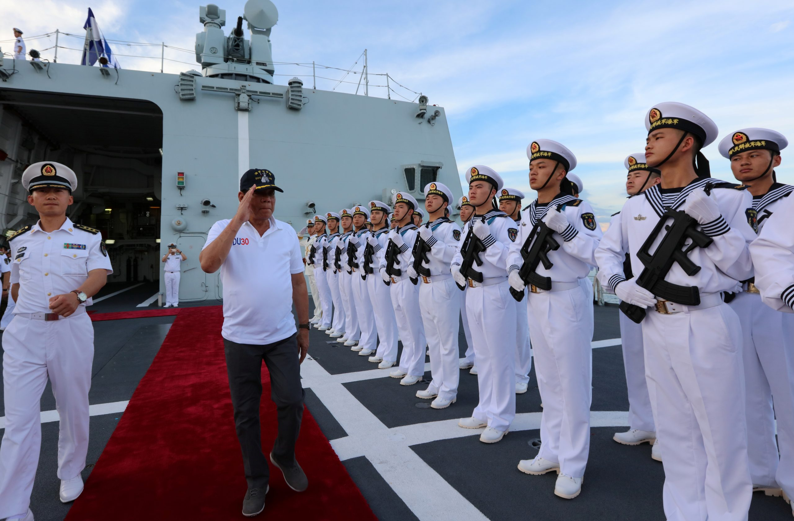 Duterte bans exercises with US in South China Sea